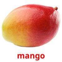 mango picture flashcards