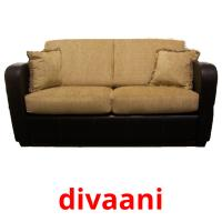divaani picture flashcards
