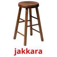 jakkara picture flashcards