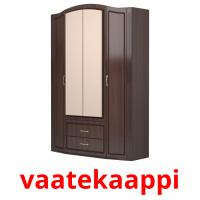 vaatekaappi picture flashcards