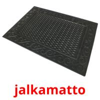 jalkamatto picture flashcards