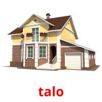 talo picture flashcards