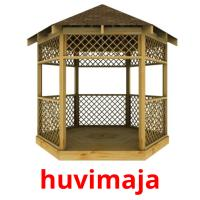 huvimaja picture flashcards