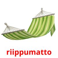riippumatto picture flashcards