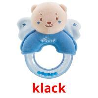 klack picture flashcards