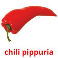 chili pippuria picture flashcards