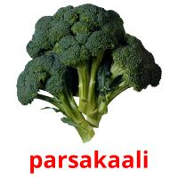 parsakaali picture flashcards