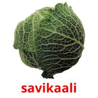 savikaali picture flashcards