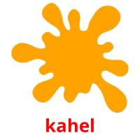 kahel picture flashcards