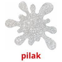 pilak picture flashcards