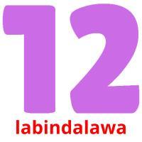 labindalawa picture flashcards