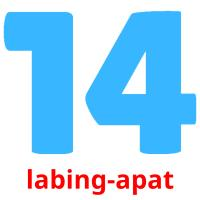 labing-apat picture flashcards