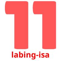 labing-isa picture flashcards