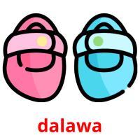 dalawa picture flashcards
