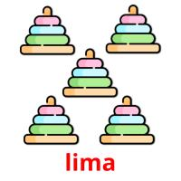 lima picture flashcards