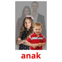 anak picture flashcards