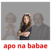 apo na babae picture flashcards