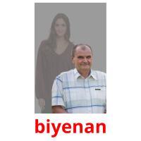 biyenan picture flashcards