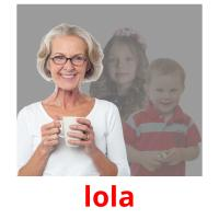 lola picture flashcards