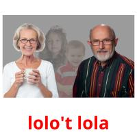 lolo't lola picture flashcards