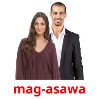 mag-asawa picture flashcards
