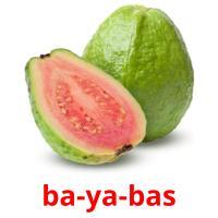 ba-ya-bas picture flashcards
