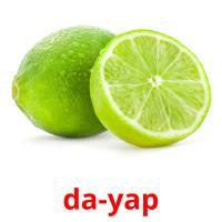 da-yap picture flashcards