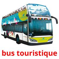 bus touristique picture flashcards