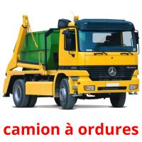 camion à ordures picture flashcards