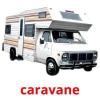 caravane picture flashcards