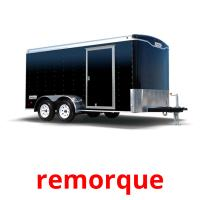 remorque picture flashcards