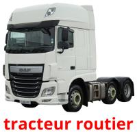 tracteur routier picture flashcards