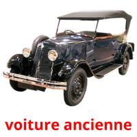 voiture ancienne picture flashcards