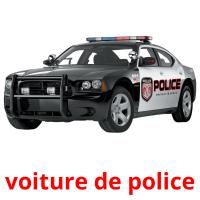 voiture de police picture flashcards