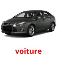 voiture picture flashcards