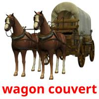 wagon couvert picture flashcards