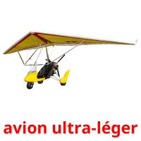 avion ultra-léger picture flashcards
