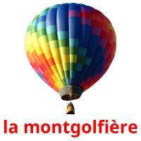la montgolfière picture flashcards