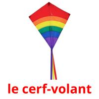 le cerf-volant picture flashcards