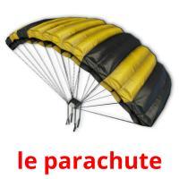 le parachute picture flashcards