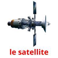le satellite picture flashcards