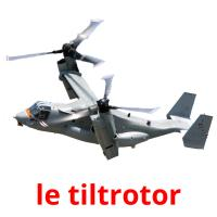 le tiltrotor picture flashcards