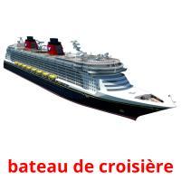 bateau de croisière picture flashcards