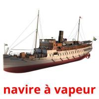 navire à vapeur picture flashcards