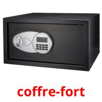 coffre-fort picture flashcards