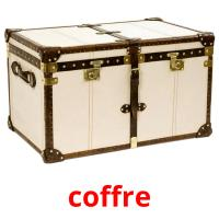 coffre picture flashcards