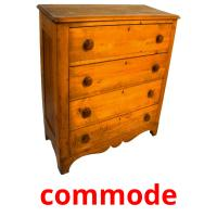 commode picture flashcards