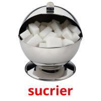 sucrier picture flashcards