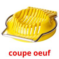 coupe oeuf picture flashcards