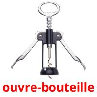 ouvre-bouteille picture flashcards